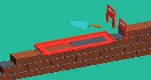 Шаблон для кладки цегли